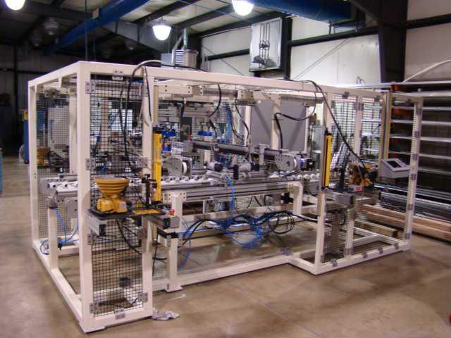 Automatic Window Assembly Machine